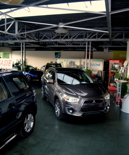 Auto Service Blondeel – Showroom